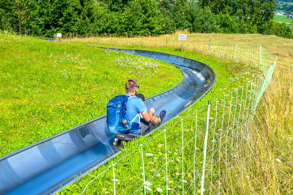 Sommerrodelbahn auf dem Hocheck in Oberaudorf