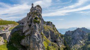 Die Wendelstein Kirche ist die höchstgelegene Kirche Deutschlands